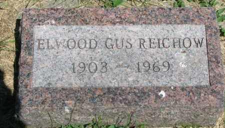 REICHOW, ELWOOD GUS - Stanton County, Nebraska | ELWOOD GUS REICHOW - Nebraska Gravestone Photos