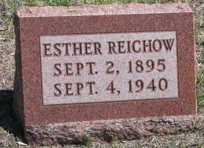 REICHOW, ESTHER - Stanton County, Nebraska | ESTHER REICHOW - Nebraska Gravestone Photos