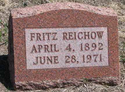 REICHOW, FRITZ - Stanton County, Nebraska   FRITZ REICHOW - Nebraska Gravestone Photos