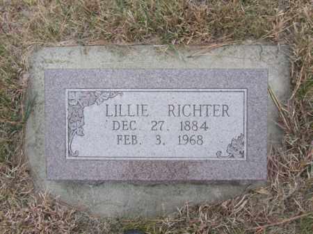 RICHTER, LILLIE - Stanton County, Nebraska | LILLIE RICHTER - Nebraska Gravestone Photos