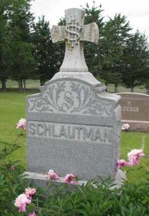 SCHLAUTMAN, FAMILY STONE - Stanton County, Nebraska | FAMILY STONE SCHLAUTMAN - Nebraska Gravestone Photos