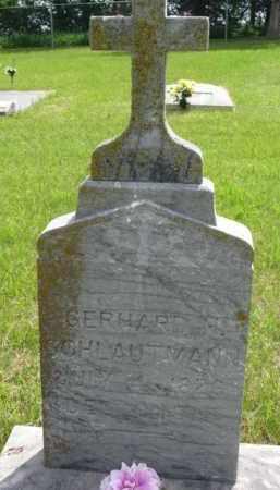 SCHLAUTMANN, GERHARD H. - Stanton County, Nebraska | GERHARD H. SCHLAUTMANN - Nebraska Gravestone Photos