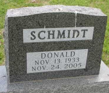 SCHMIDT, DONALD - Stanton County, Nebraska | DONALD SCHMIDT - Nebraska Gravestone Photos