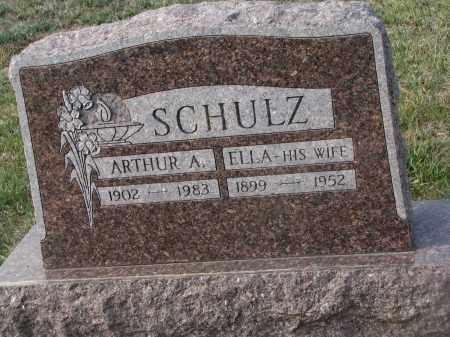SCHULZ, ARTHUR A. - Stanton County, Nebraska | ARTHUR A. SCHULZ - Nebraska Gravestone Photos