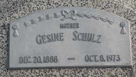 SCHULZ, GESINE - Stanton County, Nebraska | GESINE SCHULZ - Nebraska Gravestone Photos