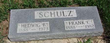 SCHULZ, FRANK C. - Stanton County, Nebraska | FRANK C. SCHULZ - Nebraska Gravestone Photos