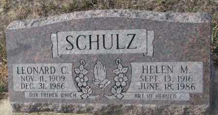 SCHULZ, HELEN M. - Stanton County, Nebraska | HELEN M. SCHULZ - Nebraska Gravestone Photos