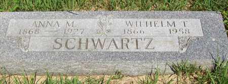 SCHWARTZ, WILHELM T. - Stanton County, Nebraska | WILHELM T. SCHWARTZ - Nebraska Gravestone Photos