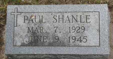 SHANLE, PAUL - Stanton County, Nebraska | PAUL SHANLE - Nebraska Gravestone Photos