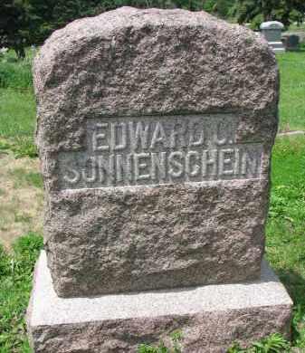 SONNENSCHEIN, EDWARD C. FAMILY - Stanton County, Nebraska | EDWARD C. FAMILY SONNENSCHEIN - Nebraska Gravestone Photos