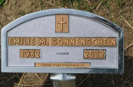SONNENSCHEIN, EMILIE M. - Stanton County, Nebraska | EMILIE M. SONNENSCHEIN - Nebraska Gravestone Photos