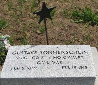 SONNENSCHEIN, GUSTAVE - Stanton County, Nebraska | GUSTAVE SONNENSCHEIN - Nebraska Gravestone Photos