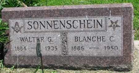SONNENSCHEIN, WALTER G. - Stanton County, Nebraska | WALTER G. SONNENSCHEIN - Nebraska Gravestone Photos