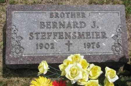 STEFFENSMEIER, BERNARD J. - Stanton County, Nebraska | BERNARD J. STEFFENSMEIER - Nebraska Gravestone Photos