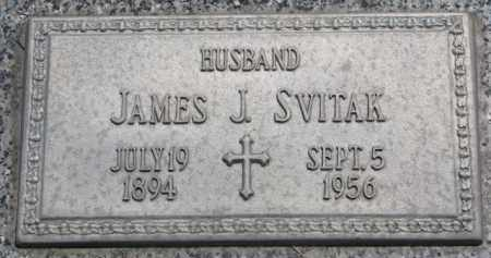 SVITAK, JAMES J. - Stanton County, Nebraska | JAMES J. SVITAK - Nebraska Gravestone Photos