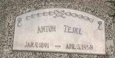 TEJKL, ANTON - Stanton County, Nebraska   ANTON TEJKL - Nebraska Gravestone Photos