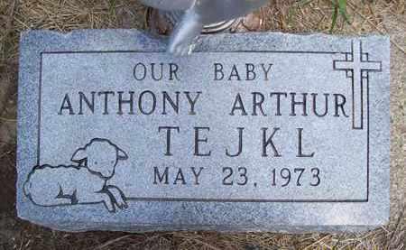 TEJKL, ANTHONY ARTHUR - Stanton County, Nebraska   ANTHONY ARTHUR TEJKL - Nebraska Gravestone Photos