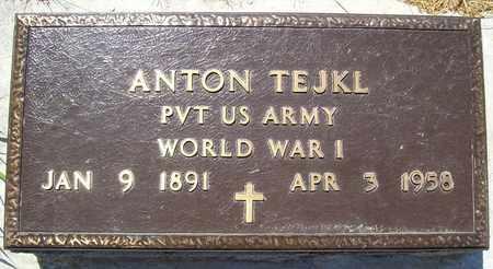 TEJKL, ANTON - Stanton County, Nebraska | ANTON TEJKL - Nebraska Gravestone Photos