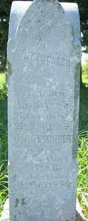 TESCHNER, E. H. - Stanton County, Nebraska | E. H. TESCHNER - Nebraska Gravestone Photos