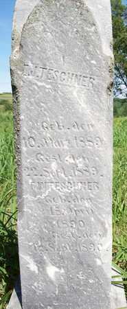 TESCHNER, E. J. - Stanton County, Nebraska | E. J. TESCHNER - Nebraska Gravestone Photos