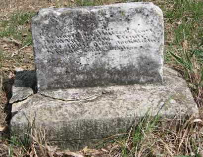 UNKNOWN, BROKEN MARKER - Stanton County, Nebraska | BROKEN MARKER UNKNOWN - Nebraska Gravestone Photos