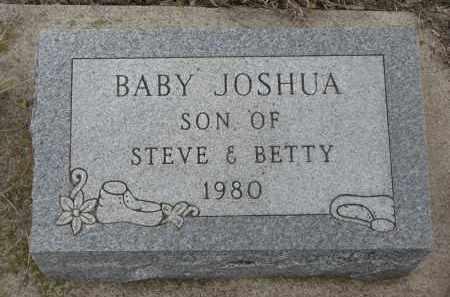 UNKNOWN, JOSHUA - Stanton County, Nebraska | JOSHUA UNKNOWN - Nebraska Gravestone Photos