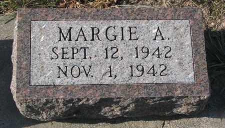 UNKNOWN, MARGIE A. - Stanton County, Nebraska | MARGIE A. UNKNOWN - Nebraska Gravestone Photos