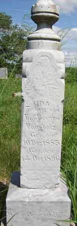 VAHSHOLZ, IDA - Stanton County, Nebraska   IDA VAHSHOLZ - Nebraska Gravestone Photos