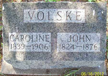 VOLSKE, JOHN - Stanton County, Nebraska   JOHN VOLSKE - Nebraska Gravestone Photos