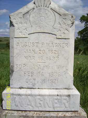 WAGNER, SOPHIA A. - Stanton County, Nebraska | SOPHIA A. WAGNER - Nebraska Gravestone Photos