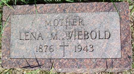 WIEBOLD, LENA M. - Stanton County, Nebraska   LENA M. WIEBOLD - Nebraska Gravestone Photos