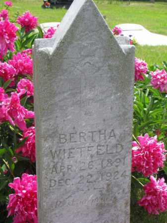 WIETFELD, BERTHA - Stanton County, Nebraska   BERTHA WIETFELD - Nebraska Gravestone Photos