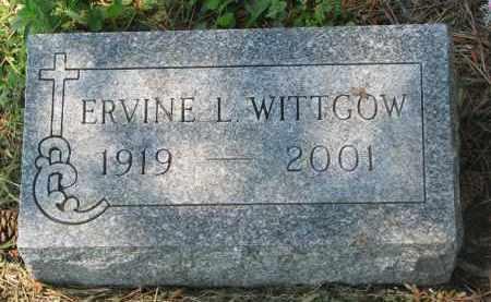 WITTGOW, ERVINE L. - Stanton County, Nebraska | ERVINE L. WITTGOW - Nebraska Gravestone Photos