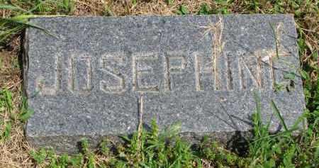 WITTGOW, JOSEPHINE (FOOTSTONE) - Stanton County, Nebraska   JOSEPHINE (FOOTSTONE) WITTGOW - Nebraska Gravestone Photos