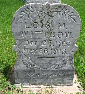 WITTGOW, LOIS M. - Stanton County, Nebraska   LOIS M. WITTGOW - Nebraska Gravestone Photos