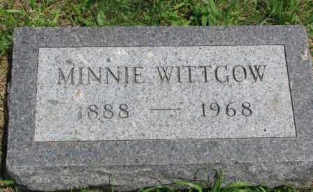 WITTGOW, MINNIE - Stanton County, Nebraska   MINNIE WITTGOW - Nebraska Gravestone Photos