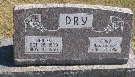 DRY, MARY - Thayer County, Nebraska   MARY DRY - Nebraska Gravestone Photos