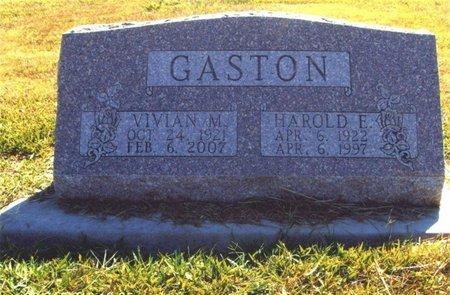 GASTON, HAROLD - Thayer County, Nebraska | HAROLD GASTON - Nebraska Gravestone Photos