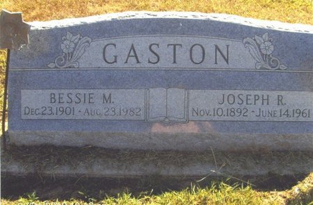 GASTON, JOSEPH - Thayer County, Nebraska | JOSEPH GASTON - Nebraska Gravestone Photos