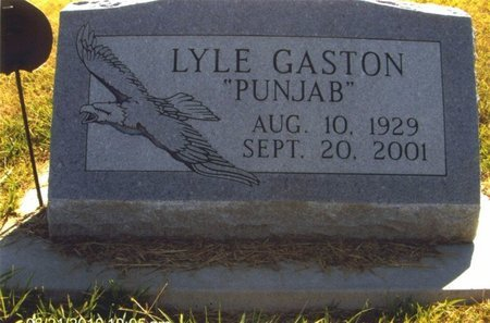 GASTON, LYLE - Thayer County, Nebraska | LYLE GASTON - Nebraska Gravestone Photos