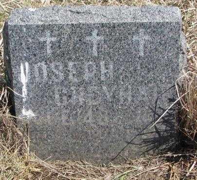 GREYHAIR, JOSEPH - Thurston County, Nebraska   JOSEPH GREYHAIR - Nebraska Gravestone Photos