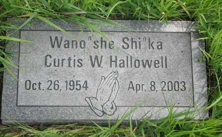 HALLOWELL, CURTIS W. - Thurston County, Nebraska | CURTIS W. HALLOWELL - Nebraska Gravestone Photos