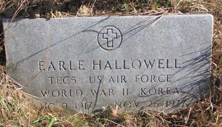 HALLOWELL, EARLE - Thurston County, Nebraska | EARLE HALLOWELL - Nebraska Gravestone Photos