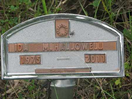 HALLOWELL, IDA M. - Thurston County, Nebraska   IDA M. HALLOWELL - Nebraska Gravestone Photos