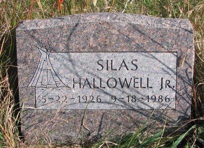 HALLOWELL, SILAS JR. - Thurston County, Nebraska   SILAS JR. HALLOWELL - Nebraska Gravestone Photos