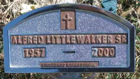 LITTLE WALKER, ALFRED SR. - Thurston County, Nebraska   ALFRED SR. LITTLE WALKER - Nebraska Gravestone Photos