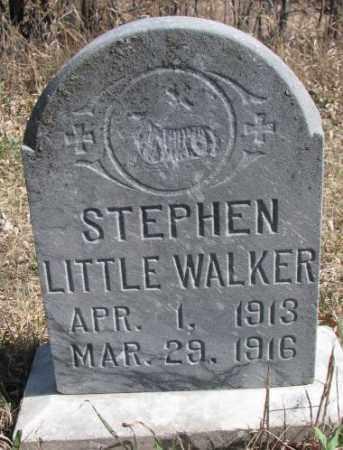 LITTLE WALKER, STEPHEN - Thurston County, Nebraska   STEPHEN LITTLE WALKER - Nebraska Gravestone Photos