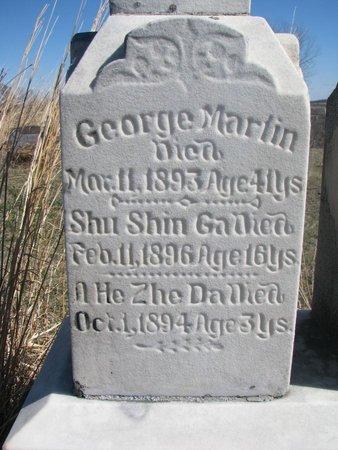 SHU SHIN GA, (CLOSE UP) - Thurston County, Nebraska | (CLOSE UP) SHU SHIN GA - Nebraska Gravestone Photos