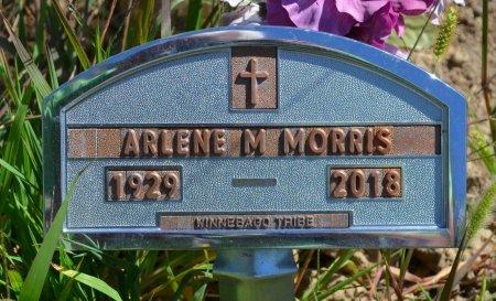 MORRIS, ARLENE M. - Thurston County, Nebraska | ARLENE M. MORRIS - Nebraska Gravestone Photos