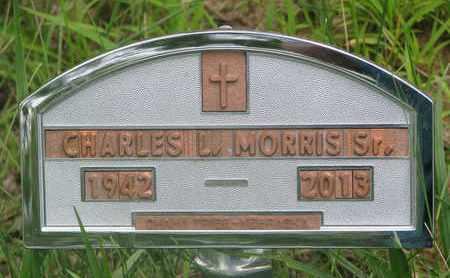MORRIS, CHARLES L. SR. - Thurston County, Nebraska | CHARLES L. SR. MORRIS - Nebraska Gravestone Photos
